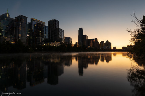 austintexas coloradoriver saturdaymorning architecture austin city citylights cityscape dawn downtown earlymorning ladybirdlake reflections skyline townlake twilight water