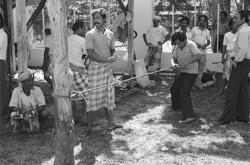 Top spinning, Kota Bharu 1986 - 860549