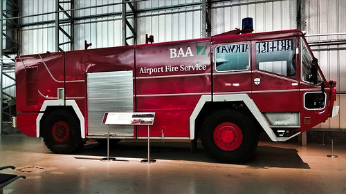 BAA FIRE ENGINE EAST FORTUNE