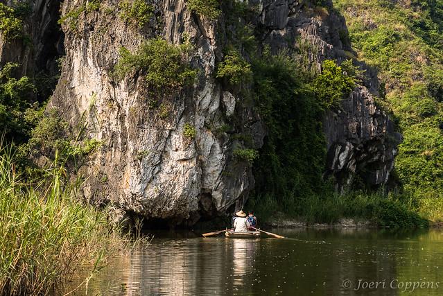 Rowing Boat in Van Long
