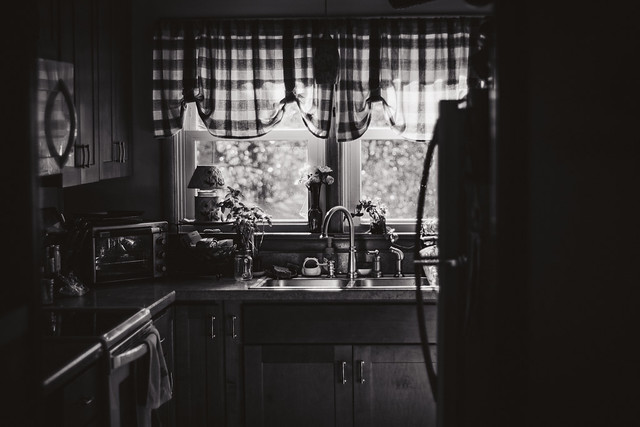 Kitchen, BW