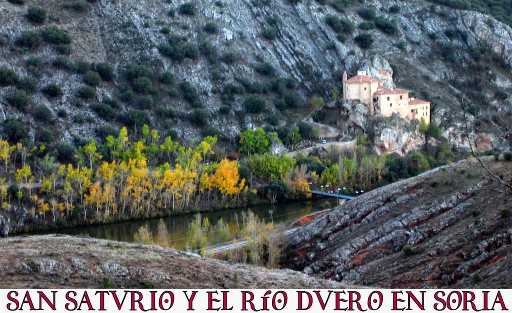 San Saturio y el río Duero en Soria