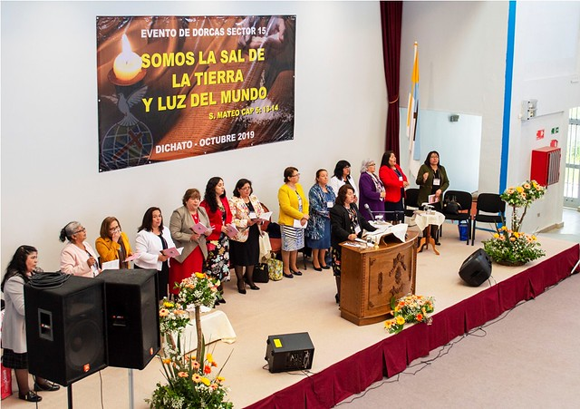 """Tú, te mereces toda Gloria..."" Culto de Clausura Evento de Dorcas en Dichato"