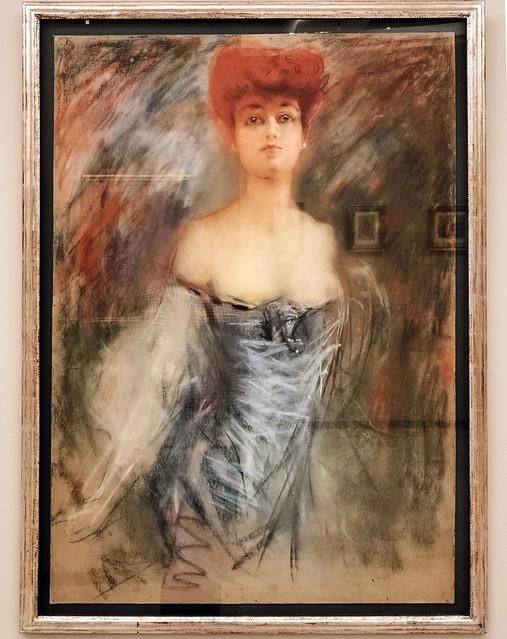 Mujer pintura contemporanea pintor Jose Maria Fernandez Museo de la Ciudad de Antequera Malaga 01