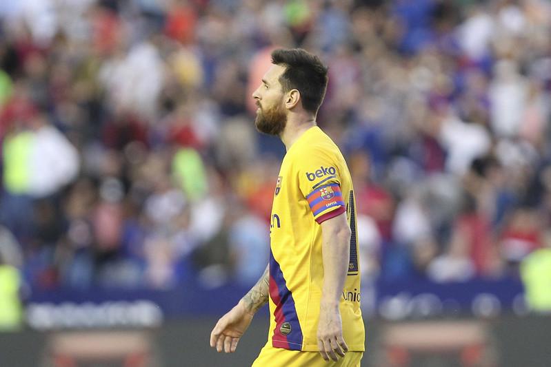 巴塞隆納球星Lionel Messi。(達志影像資料照)