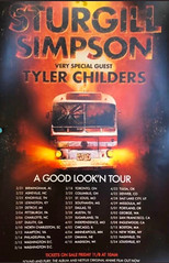 sturgill-simpson-a-good-lookn-tour-poster