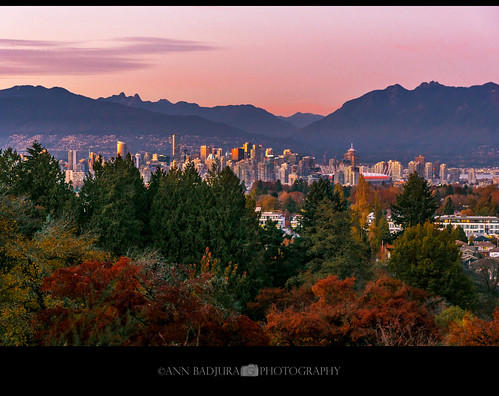 Vancouver sunset, BC, Canada | by Ann Badjura Photography