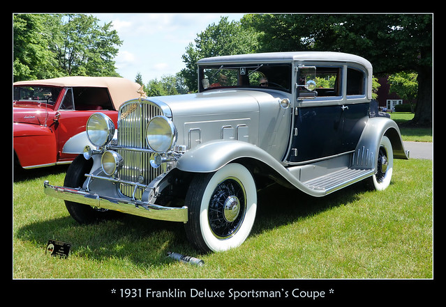 1931 Franklin Deluxe Sportsman's Coupe