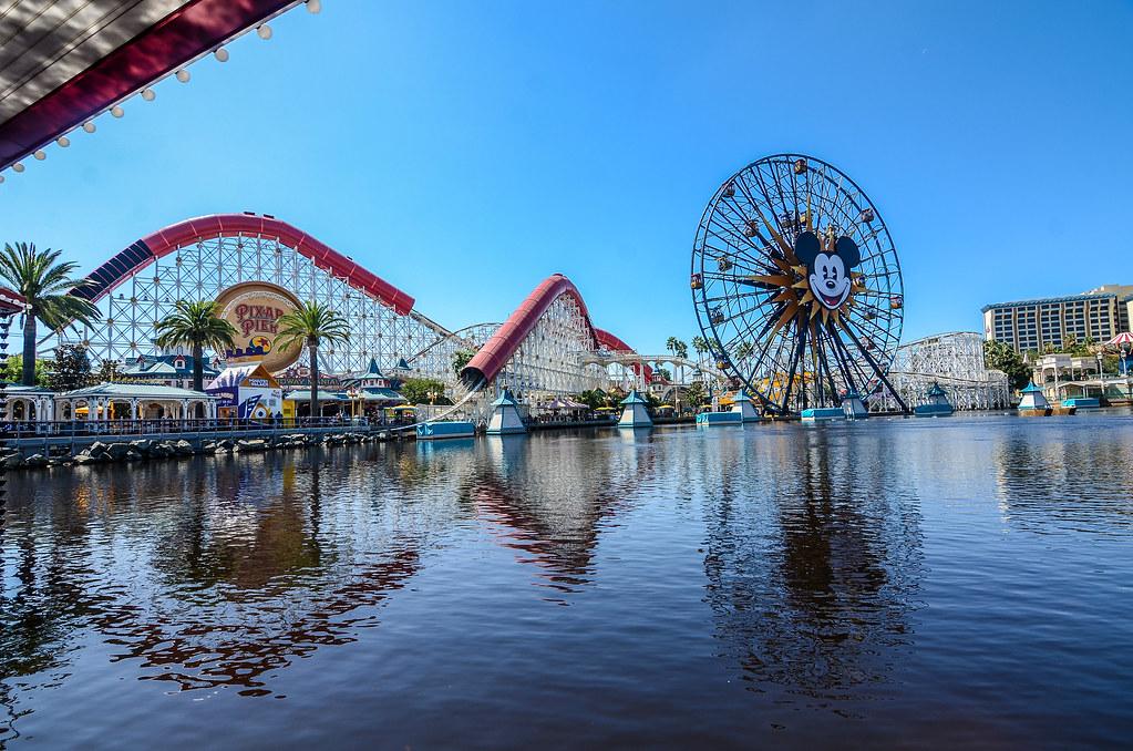 Pixar Pier Lamplight Lounge view DCA