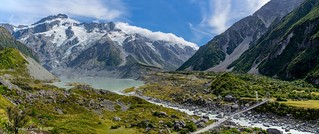 Hooker Valley Track and Mueller lake/glacier pano | by Tatters ✾