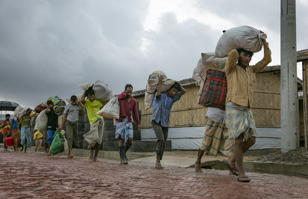 Bangladesh, 2019 - Humanitarian response, Rohingya refugee crisis