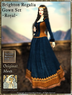 Brighton Regalia Gown Set-Royal-Promotional Art