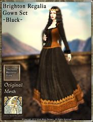 Brighton Regalia Gown Set-Black-Promotional Art