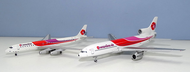 Hawaiian Airlines Lockheed L-1011-50 Tristar N765BE & Douglas DC-8-62 N8970U