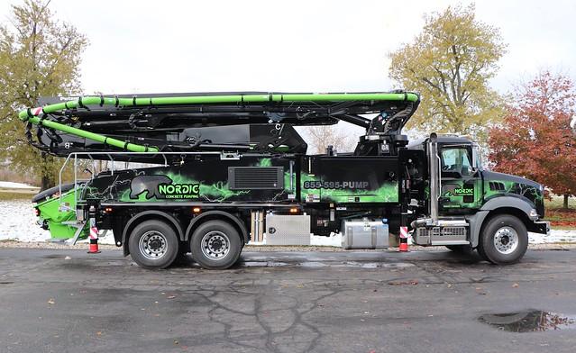 Nordic Concrete Pumping Truck