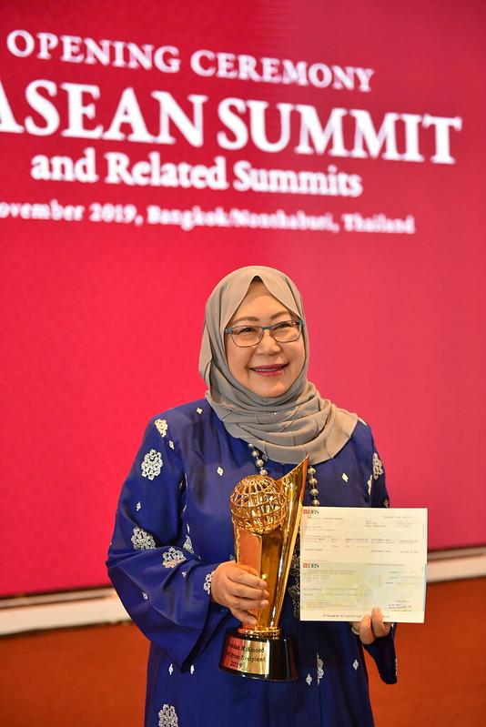 35th ASEAN Summit_ASEAN Summit 2019 Recipient Dr. Jamilah Mahmoud