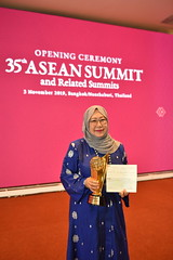 35th ASEAN Summit_ASEAN Prize 2019 Recipient Dr.Jemillah Mahmoud