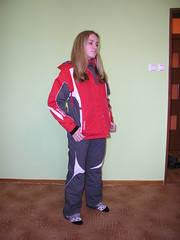 Dívčí / dámská lyžařská souprava - titulní fotka