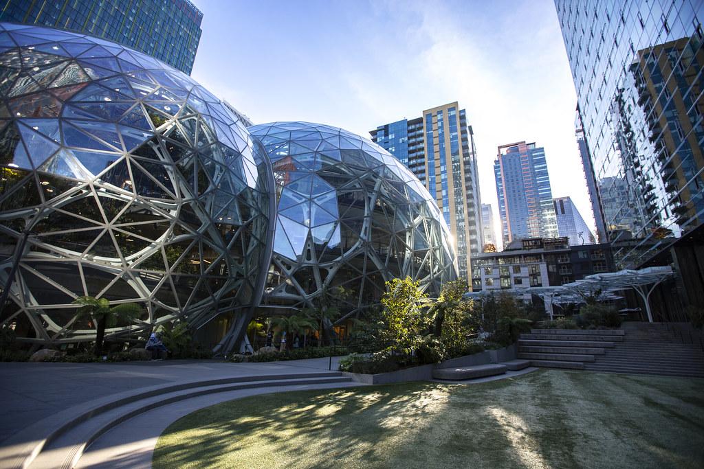 Amazon Seattle Spheres