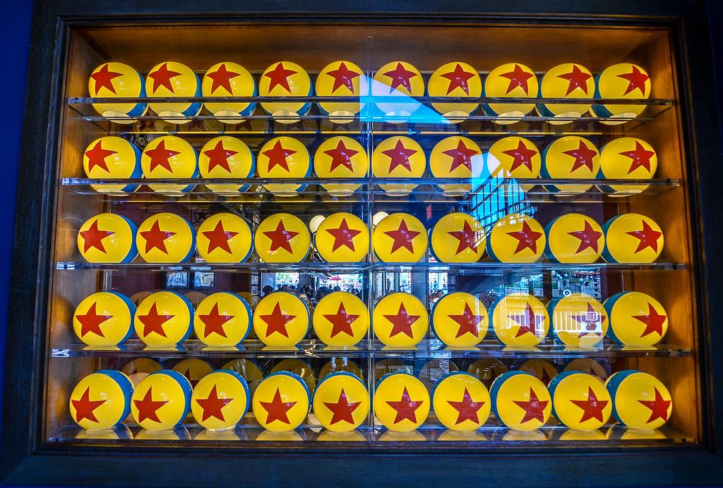 Lamplight Lounge Pixar Balls DCA