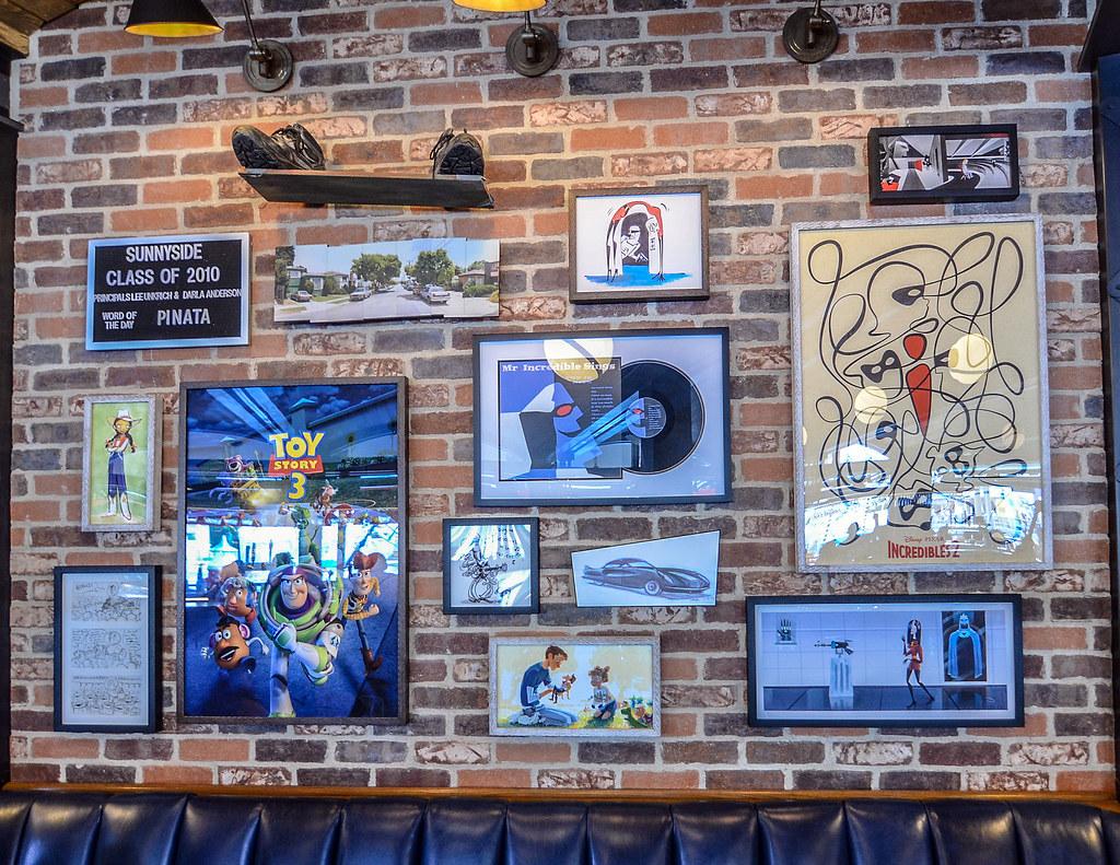 Lamplight Lounge wall art DCA