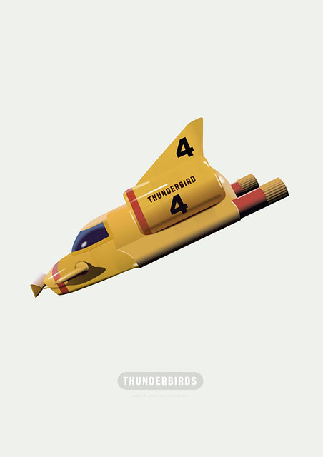 Thunderbirds - Alternative Movie Poster
