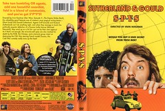 "USA sorta vintage DVD cover art circa early 2000s for Sutherland-Gould oddity ""S*P*Y*S"" (1974)"