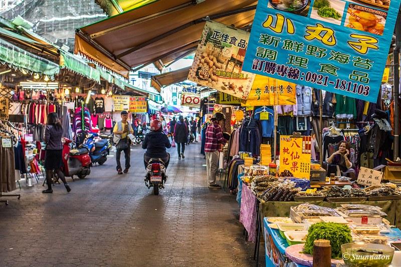 Taiwan, Hualien, market