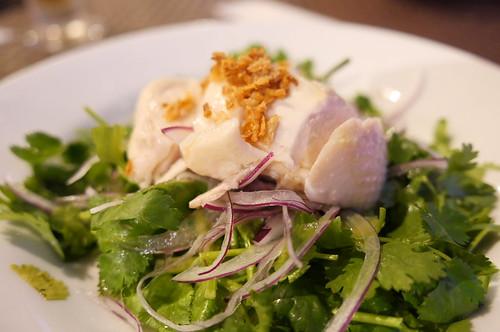 パクチー サラダ coriand