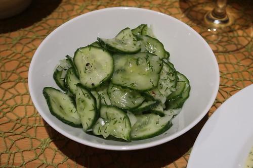 Gurkensalat (mein Salatschüsselchen)