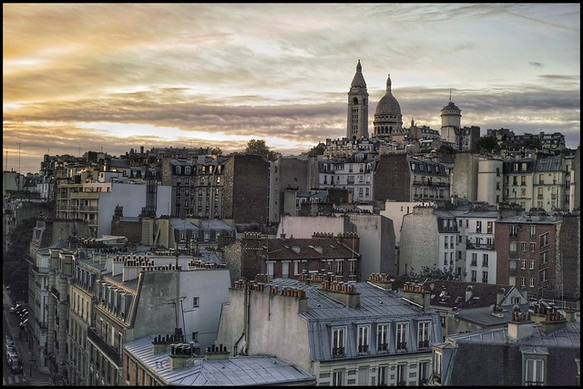 Montmartre, this morning