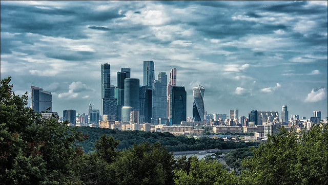 Moscow City, International Business Center ...