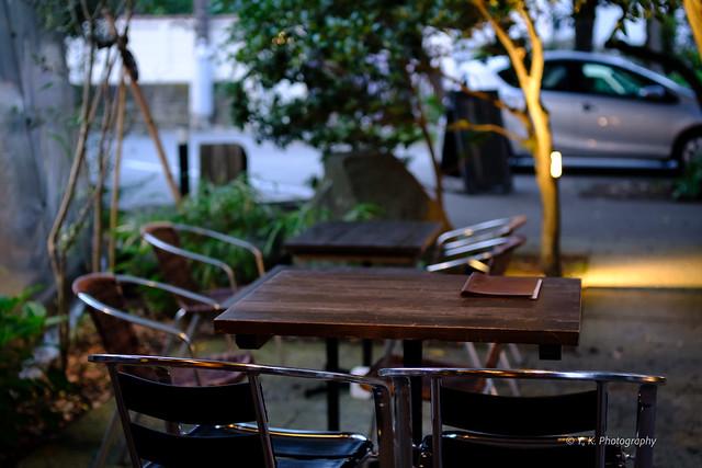 由比ヶ浜の松原庵カフェ