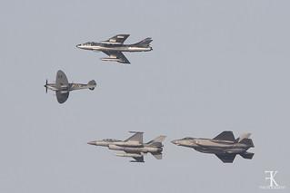 Lockheed Martin F-35A Lightning II over Leeuwarden Airbase (EHLW) Oct/31st/2019