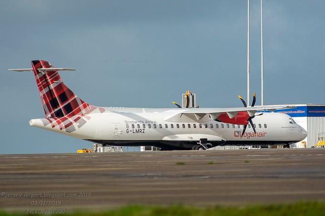 G-LMRZ  ATR-72-212A Loganair