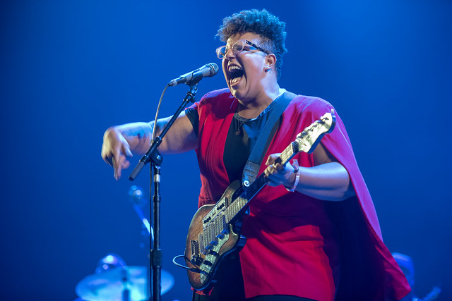 Brittany Howards (cantante de Alabama Shakes)
