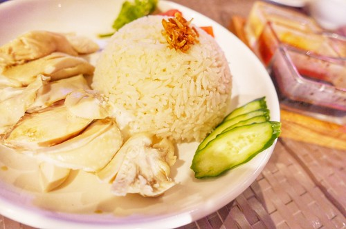 Chicken rice & Soup