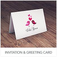 Invitation & Greeting Card Mockup - 44