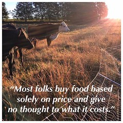 Re-share from one year ago. It was true then and still true today. #truth #food #localfood