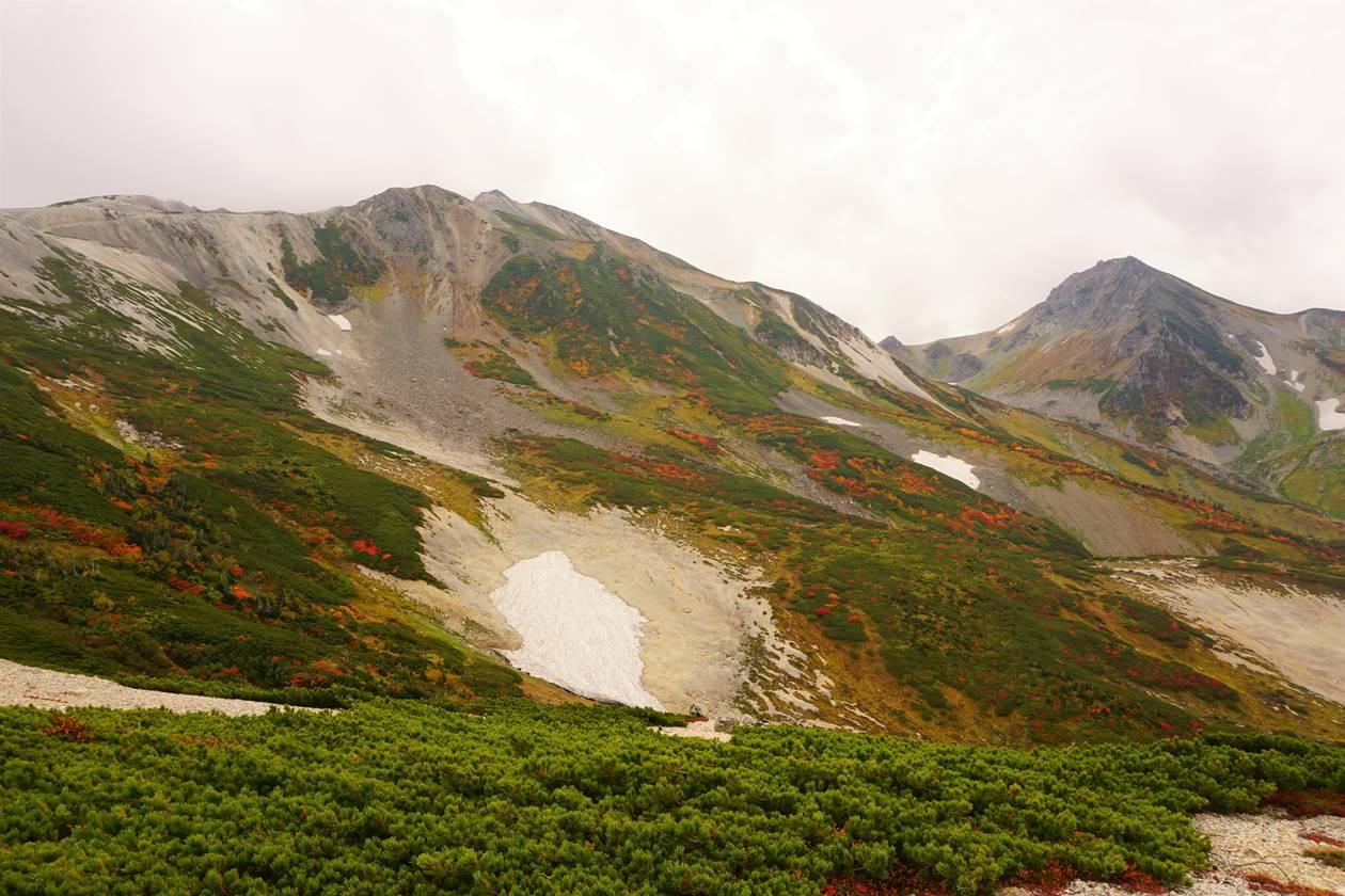 北アルプス白馬岳 紅葉登山