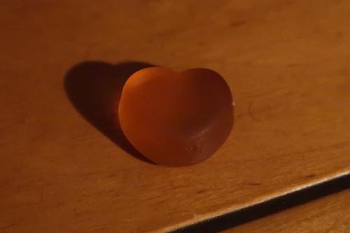 Ginger Sweet Heart (= Ingwer Fruchtgummi in Herzform)