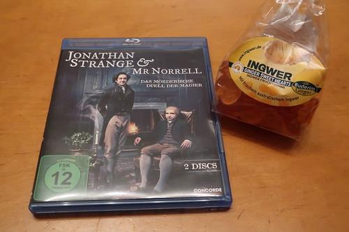 """Ginger Sweet Hearts zur letzten Folge der Mini-Serie """"Jonathan Strange & Mr Norrell"""""""