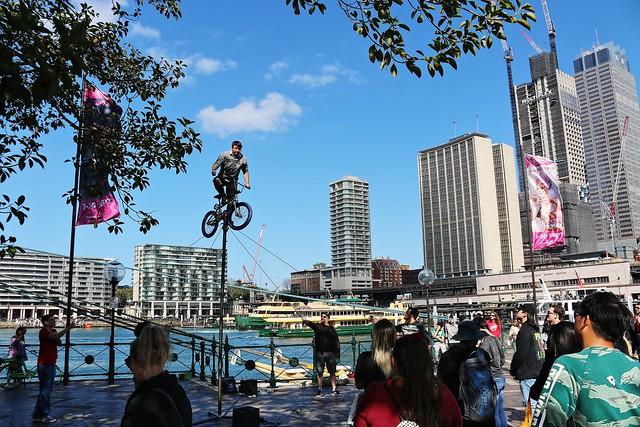 Street performance - Sydney