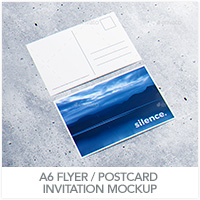 Invitation & Greeting Card Mockup - 22