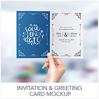 Invitation & Greeting Card Mockup - 26