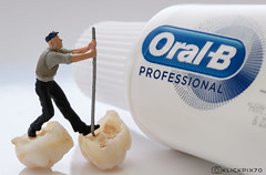 Macro Mondays 2nd try: Oral B -  use it or loose it