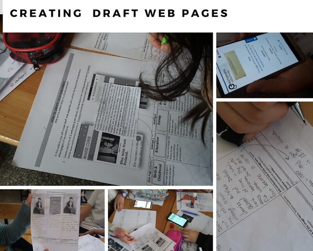 Creating  Draft Web Pages