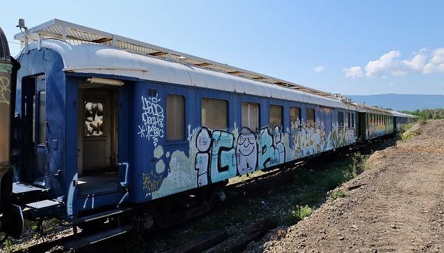 Urbex, Cimetiere de trains de Culoz