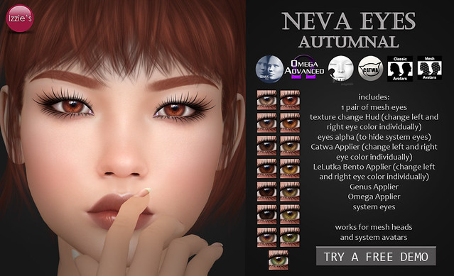 Neva Eyes autumnal (TLC)