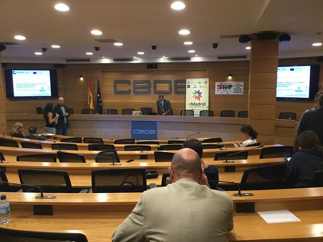 20_09_2019 Seminario eMadrid Sobre «Emprendimiento Para Todos En La Era Digital», UPM y CECE / CEOE